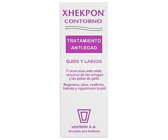 Xhekpon Contorno ojos, tratamiento antiedad, reductor de arrugas y patas de gallo 15 ml