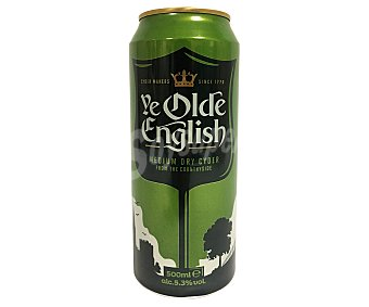 Older english Sidra en lata 50 cl