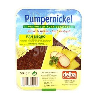 DELBA Pan pumpernick bona negro 500 g