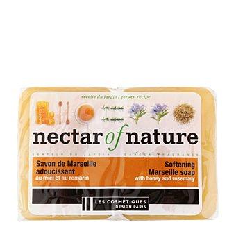 Les Cosmétiques Jabón de Marsella en pastillas Néctar of Nature con miel 2 ud