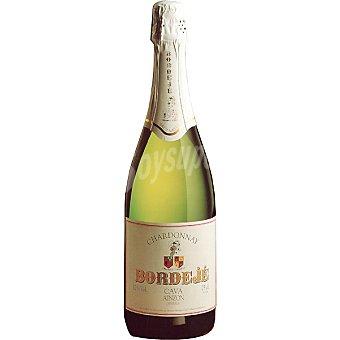 BORDEJE Chardonnay cava brut de Aragón Botella 75 cl