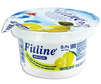 FITLINE MEVGAL Yogur Griego 0,9% Grasa Limón 150 Gramos