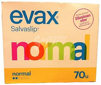Evax Protegeslip normal Paquete 70 u
