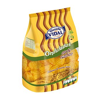 Vidal Patatas fritas onduladas de corte rústico 210 g