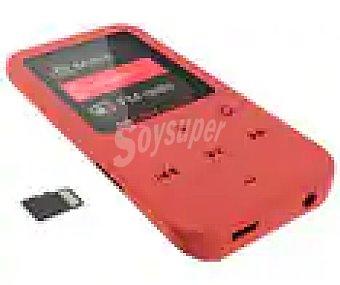 "Energy Sistem Reproductor MP4 touch 426447 coral 8GB, LCD de 4,5 cm (1,8""), lector tarjetas microsd 8GB, LCD de 4,5 cm (1,8""), lector tarjetas microsd"