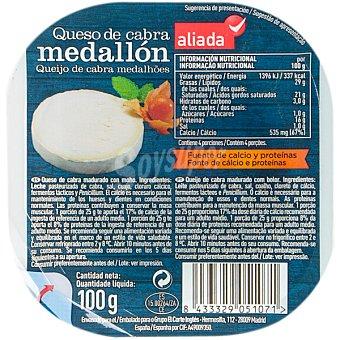 Aliada Medallón de queso de cabra Envase 100 g