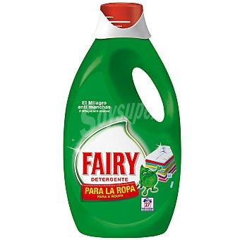 Fairy Detergente líquido para la ropa 27 lavados
