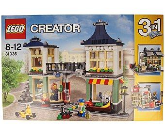 LEGO Juego de construcciones 3 en 1, Creator, tienda de juguetes y mercado, modelo 31036 1 unidad