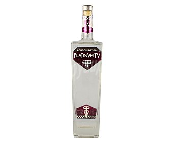 Platinum tv Ginebra tipo London dry Botella de 70 cl