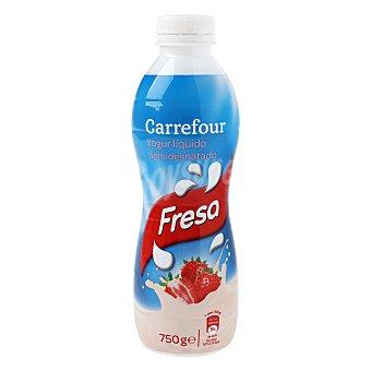 Carrefour Yogur líquido LV fresa 750 g