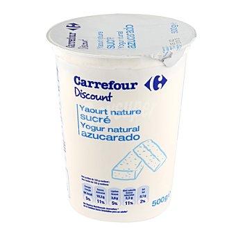 Carrefour Discount Yogur natural azucarado Envase de 500gr