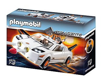 PLAYMOBIL Súper vehículo para agente secreto con misiles ocultos, modelo 4876 Top Agents 1 unidad