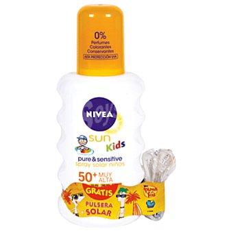 Nivea Sun kids leche solar protección muy alta spf 50+ para niños Bote 200 ml