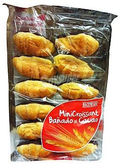 Hacendado Croissant mini base chocolate industrial Paquete 185 g