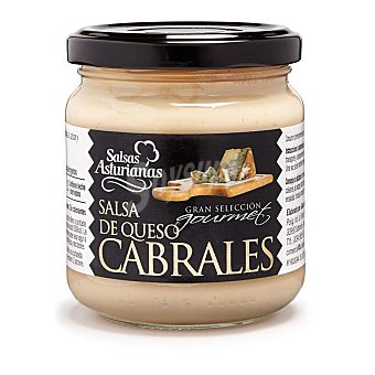 Salsas Asturianas Salsa de queso de cabrales Frasco 190 g