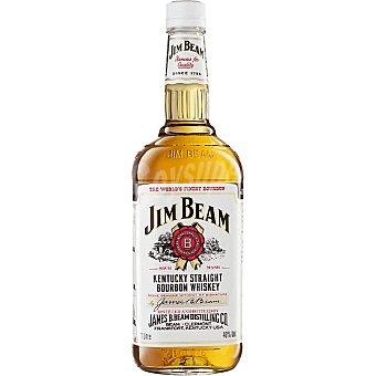 Jim Beam Whisky tipo bourbon elaborado al estilo Kentucky Botella de 1 l