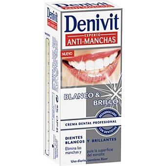 Denivit Pasta dentífrica antimanchas blanqueador Tubo 50 ml