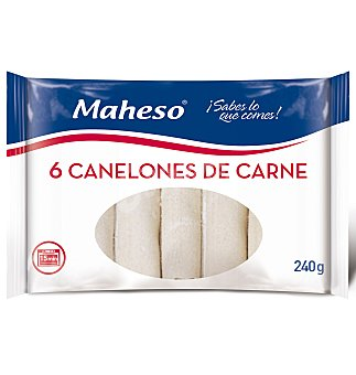Maheso Canelones carne s/bech 6 UNI