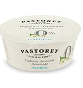 El Pastoret Yogur natural 0% 125 g