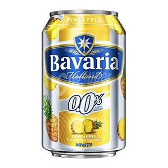 Bavaria Cerveza holandesa sin alcohol 0,0% con piña 33 cl