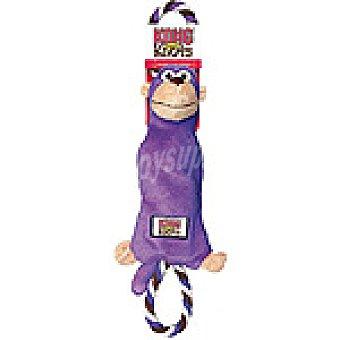 KONG KNOTS Juguete de cuerda con nudos modelo mono medida 33 cm 1 unidad