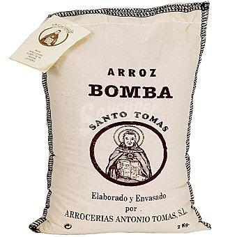 SANTO TOMAS Arroz bomba Saco 2 kg