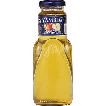 Lambda Zumo de manzana botella 250 ml 250 ml