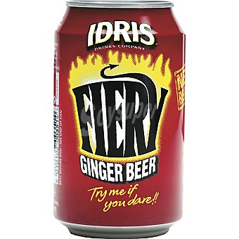 IDRIS Fiery Ginger Beer refresco Botella 33 cl