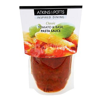Atkins Salsa tomate y albahaca 350 g