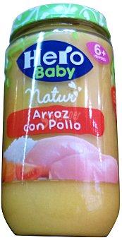 HERO BABY TARRITO ARROZ CON POLLO A PARTIR 6 MESES (BABY NATUR) TARRO 235 g