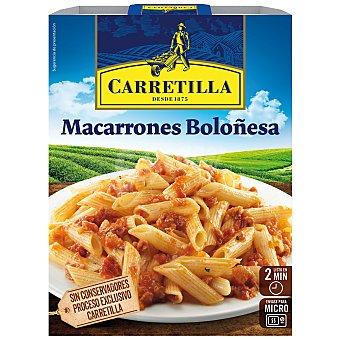Carretilla Macarrones a la boloñesa Bandeja 325 gr