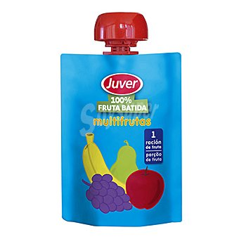 Juver Fruta batida 100% multifrutas 90 g