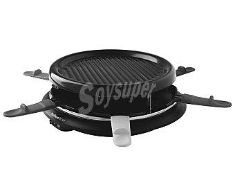 SELECLINE XJ3K042 Raclette (producto económico alcampo), 6 Cubiertos, 900w,
