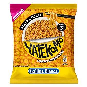 Gallina Blanca Fideos orientales Pollo al curry Yatekomo Gallina Blanca 75 g