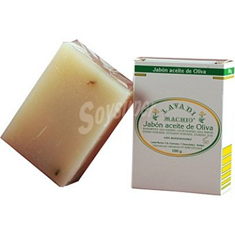 LAVADI MACHIO Pastilla de jabón aceite de oliva Pastilla 100 g