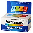 Complemento multivitamínico y multimineral Select 50+ 90 comprimidos Multicentrum