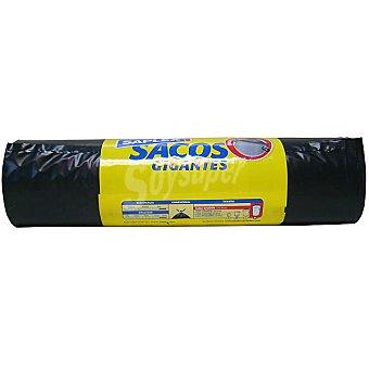 Saplex Bolsas de basura saco gigantes 100 L Bolsa 10 bolsas