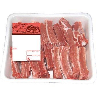 LA MONTAÑERA Costillas frescas de cerdo cortadas bandeja familiar peso aproximado 1,2 kg 1,2 kg