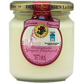 La Ermita Yogur natural desnatado Tarro 185 g
