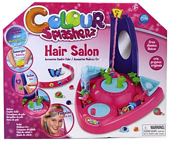 """CIFE Set de Peluquería """"Color Splasherz Hair Salon"""" 1 Unidad"""