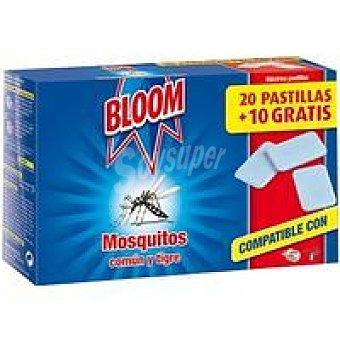 Bloom Antimosquitos eléctrico recambio 30 unidades