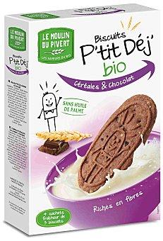 Moulin Pivert Galletas de Desayuno con Cereales y Chocolate Eco Moulin Pivert 190g 190 gr