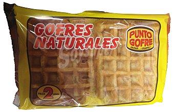 Punto Gofre Gofre natural industrial 2 unidades de 110 g