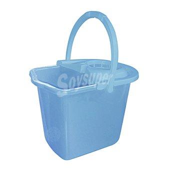 Carrefour Cubo + escurridor azul 14 L 1 unidad
