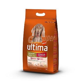 ULTIMA Alimento para perros senior bolsa 3 kg