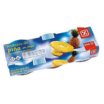 DIA Piña en su jugo pack 3 latas 420 grs Pack 3 latas 420 grs