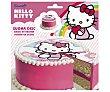 Disco de azúcar 16cm, decoración de postres 25 gramos Hello Kitty