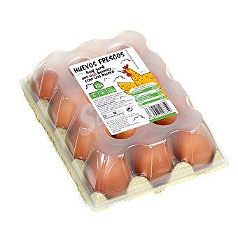 Huevos frescos categoría A clase L Estuche 12 uds