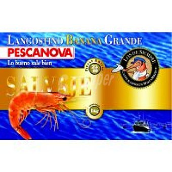 Pescanova Langostino Banana 20/30 piezas Caja 1 kg