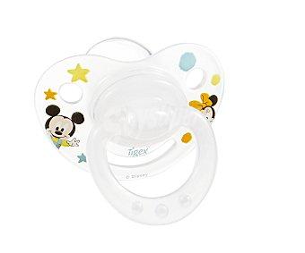 Disney Chupetes fisiológicos de silicona a partir de 6 meses 2 unidades
